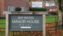 Exterior view Best Western Manor House