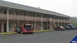 Exterior view Red Carpet Inn Parkersburg