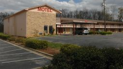 Buitenaanzicht Red Carpet Inn Anniston Oxford