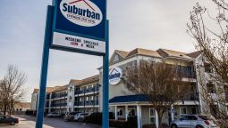 Exterior view Suburban Extended Stay Hotel Near Fort Bragg