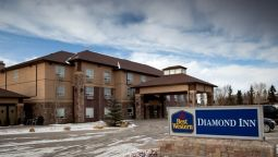 Exterior view Best Western Diamond Inn