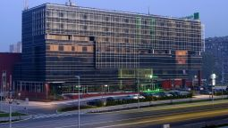 Buitenaanzicht Holiday Inn BELGRADE