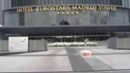 Exterior view Eurostars Madrid Tower
