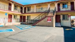 Buitenaanzicht Econo Lodge Long Beach