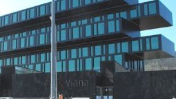 Buitenaanzicht Axis Viana Business & SPA hotel