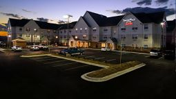 Exterior view TownePlace Suites Huntsville