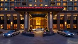 Exterior view The Sandalwood Beijing - Marriott Executive Apartments