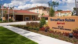 Exterior view TownePlace Suites Houston Intercontinental Airport