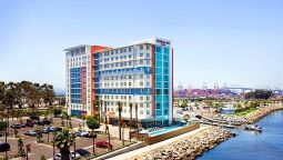Buitenaanzicht Residence Inn Long Beach Downtown