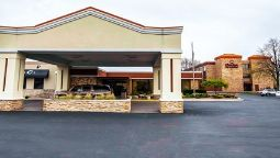 Exterior view Clarion Inn Michigan City