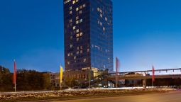 Exterior view Marriott Executive Apartments Atyrau