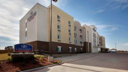 Exterior view Candlewood Suites WEATHERFORD