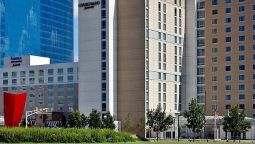 Exterior view SpringHill Suites Indianapolis Downtown