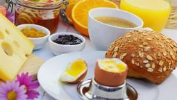 Breakfast buffet Pension Sonnblick Ayurveda