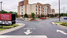 Buitenaanzicht Comfort Suites Little Rock