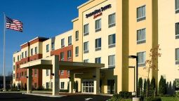 Exterior view SpringHill Suites Albany-Colonie