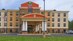 Buitenaanzicht Holiday Inn Express & Suites FULTON