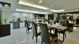 Ontbijtbuffet Abloom Exclusive Serviced Apartment