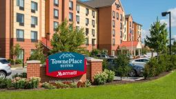 Exterior view TownePlace Suites Frederick