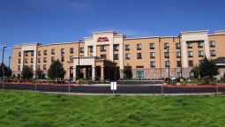 Buitenaanzicht Hampton Inn and Suites Manteca