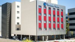 Buitenaanzicht Travelodge Madrid Alcalá