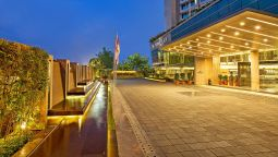 Buitenaanzicht Crowne Plaza AHMEDABAD CITY CENTRE