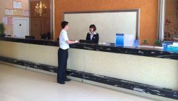 Reception Green Tree Inn Jinshan Wanda Pushang Avenue