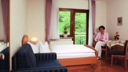 Room with terrace Burk Pension