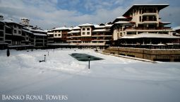 Buitenaanzicht Complex Bansko Royal Towers
