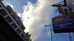 Exterior view Best Western Greater London