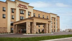 Buitenaanzicht Hampton Inn - Suites Williston ND
