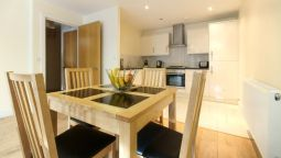 Kitchen in room Lodge Drive Serviced Apartments
