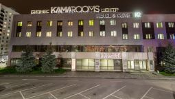 Buitenaanzicht Kama Rooms