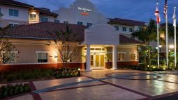 Exterior view Residence Inn Fort Myers at I-75 and Gulf Coast Town Center