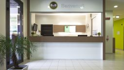 Reception B&B Hotel Bergamo