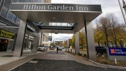 Exterior view The Hilton Garden Inn Buffalo Downtown