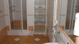 Bagno in camera Pension U Matesa