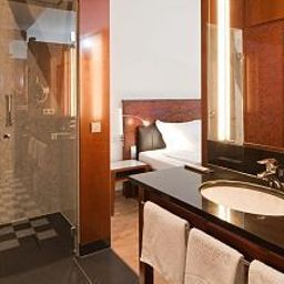 Bagno in camera Grand Hotel Mussmann Hanover (Lower Saxony)