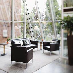 Vestíbulo del hotel Mövenpick