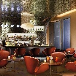 Bar de l'hôtel Grand Hotel Europa