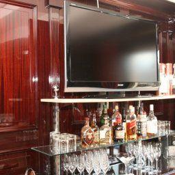 Bar de l'hôtel Rheinhotel Schulz