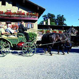 Außenansicht Posthotel Brannenburg Land-gut-Hotel