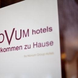certificat / logo Novum Rieker Hauptbahnhof
