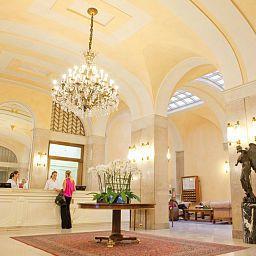 Hall de l'hôtel Vittoria