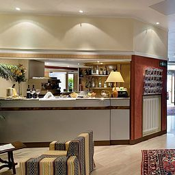 Bar de l'hôtel Best Western Continental