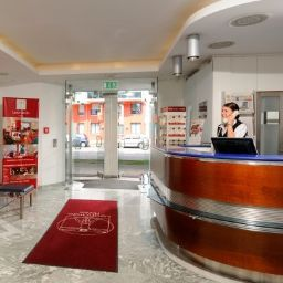 Hall de l'hôtel Leonardo City West