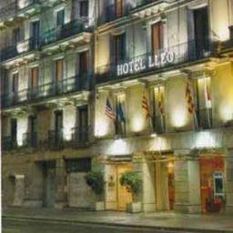 Vestíbulo del hotel Lleo