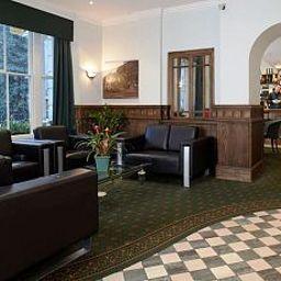 Hall de l'hôtel Quality Crown Hyde Park