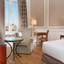 Chambre Rome Marriott Grand Hotel Flora
