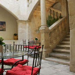 Vestíbulo del hotel Marquis de La Baume